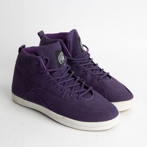 NFN Gourmet AJ 11 inspired canvas shoes - purple